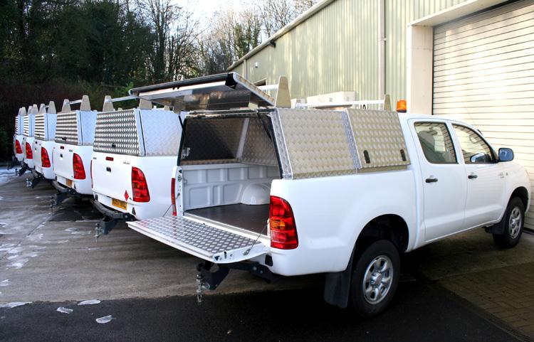 Aluminium Truework Canopy With Secure Storage Box