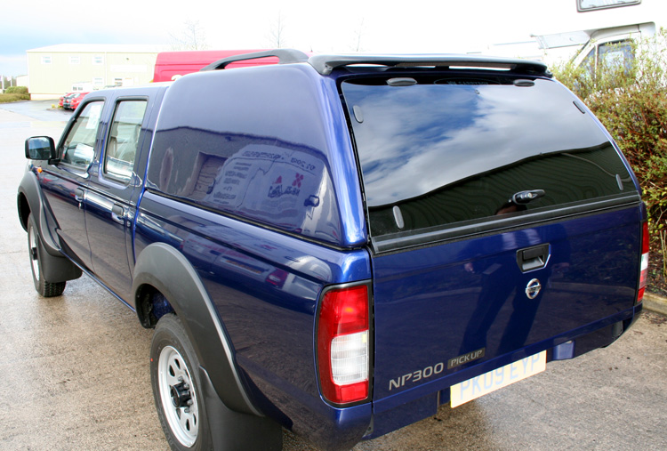 ... Blue Carryboy Commerical on a NP300 Nissan Pickup. & Carryboy Commercial Hardtop Canopy | Carryboy | Canopies ...
