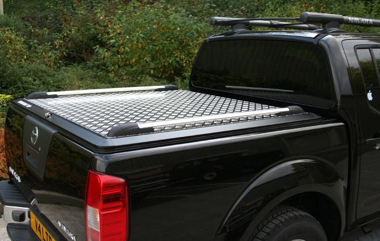 Aluminium Chequer Plate Mountain Top Tonneau Cover Mountain Top Load Bed Covers N J