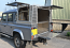 Landscapers Canopy on a Land Rover 110 D/cab