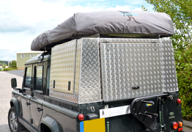 Land Rover Overland Aluminium Canopy