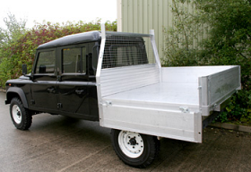 Land Rover 130 Drop Sided Body