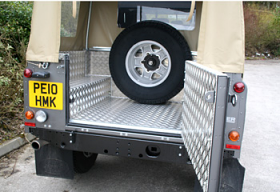 Land Rover 90 Soft Top Samson Load Lining