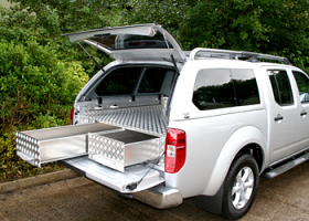 Heavy Duty Intergrated Canopy Drawer System
