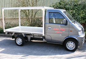 Aluminium Milk Float
