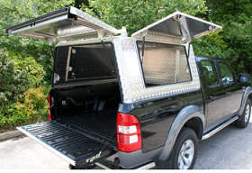 Gullwing Canopy for Ford Ranger