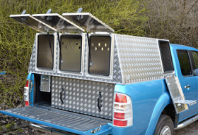 Jim Cropper's Sheep Dog Transporter