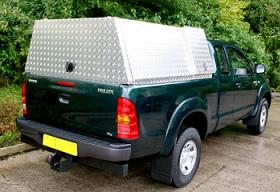 Aluminium Canopy With Secure Storage