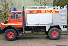 Fire Engine onto a Unimog