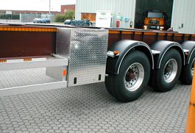 Dry Powder Bulk Tanker Chassis Box