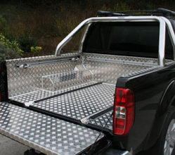 Samson Aluminium 4x4 Pickup Load Liner to fit the Nissan Navara D40 Pickup