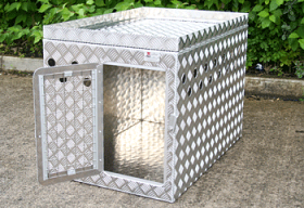 Dog Crate with upper storage