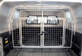 Galvanised Dog Guard