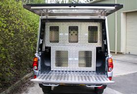 Aluminium Sheep Dog Boxes