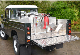 Land Rover 110 Lining and Diesal Tank