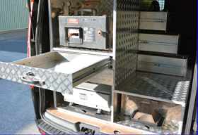 Standalone Farriers Van Workshop Unit