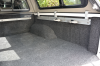Bed Rug Shown in an Nissan NP300 Pickup