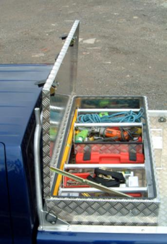 Pickup Toolbox/Storage Box complete with trays