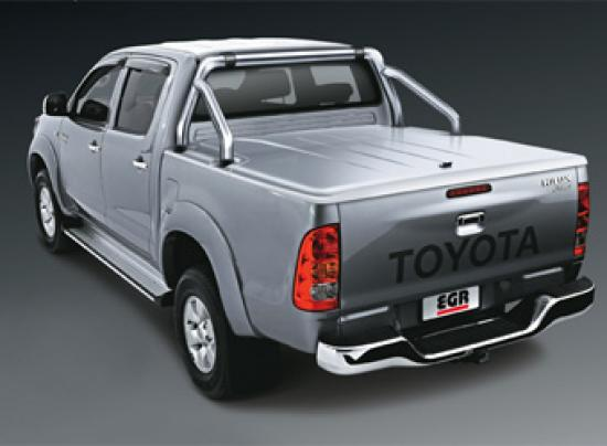 EGR Sports Hard Tonneau Cover complete with Integral Stainless Steel Rollbar