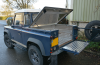Land Rover Top Cover with a Samson Load Liner.