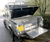 Land Rover with Draw System Fitted under a Samson Hinged Top Cover.