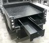 Powder Coated Drawer system an Option Call for details.