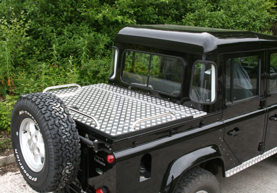 Land Rover 90/110 Samson Hinged Aluminium Top Cover
