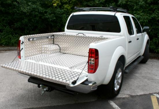 4x4 Aluminium Boxes - Over the Wheel Arch, Full Size Lid