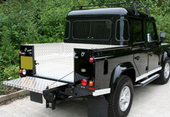 Land Rover 110 D/Cab Samson Aluminium Load Liner