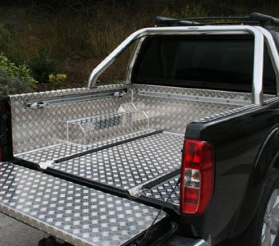 Samson Aluminium 4x4 Pickup Load Liner to fit the Nissan Navara D40 Pickup