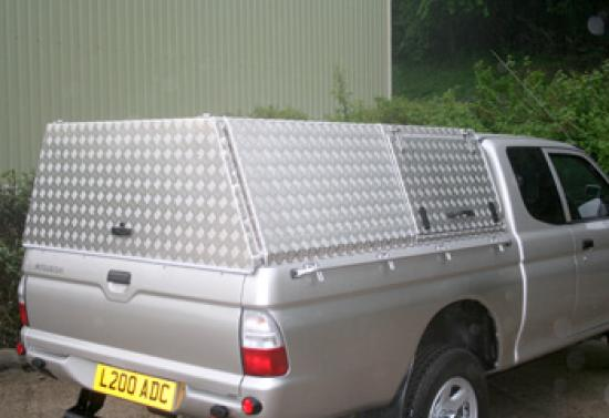 Bespoke Aluminium 4x4 Pickup Canopy