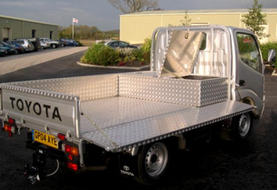 Aluminium Fully lined Truck Body