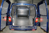 VW Long Wheel Based Van lined in chequer plate aluminium