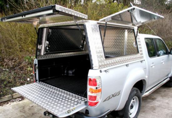 Hodder Mobile Workshop Canopy