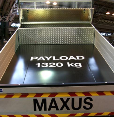 2 LDV Maxus Tool/Storage Box