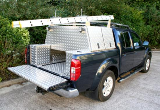Canopy-Storage Unit complete with ladder rack