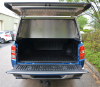 Mitsubishi Series 5 Truework Canopy option. Shows PPE Hooks on Bulkhead.