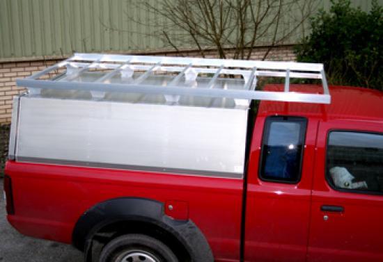 Aluminium NP300 Canopy