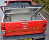 Half Tonneau Cover fitted with a Storage box and fully welded load liner.