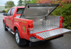 Samson Tonneau Cover with Samson Load Liner and Aluminium box fitted to the bulkhead, fitted together make a great combination.