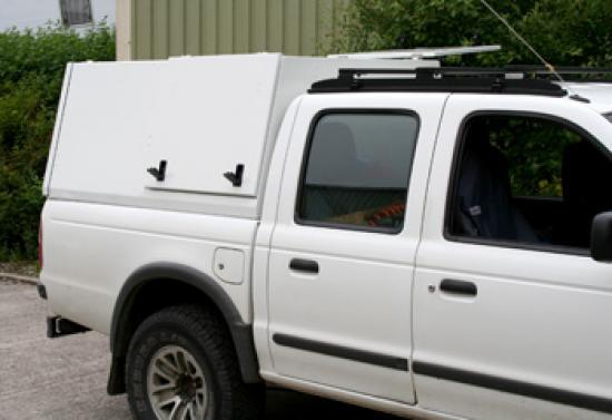 Gullwing Aluminium Pickup Canopy