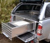 Isuzu Fitted with Integral Draw System used for a Mobile Vet.