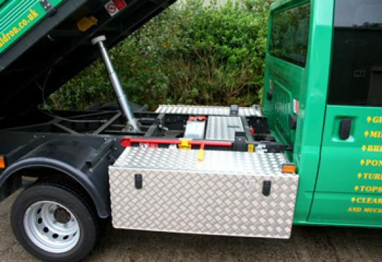 Tipper Truck Chassis Box