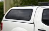 Aeroklas with sliding windows and fitted with optional roof bars.