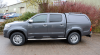 Toyota HIlux fitted with an Aeroklas Solid Sided Canopy.
