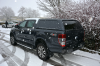 Aeroklas with solid sides fitted to a New Ford Ranger D/cab