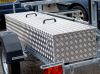 Aluminium Storage Box fitted to the Trailer as an extra.