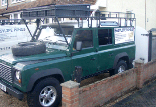Land Rover Powder Coated Roof Box