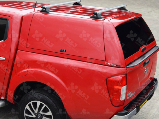 DOUBLE CAB ALPHA CMX TRUCK TOP CANOPY WITH TRIPLE CENTRAL LOCKING