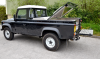 Single Cab Land Rover with a Top Cover and Box fitted over a Samson Aluminium Load Liner.